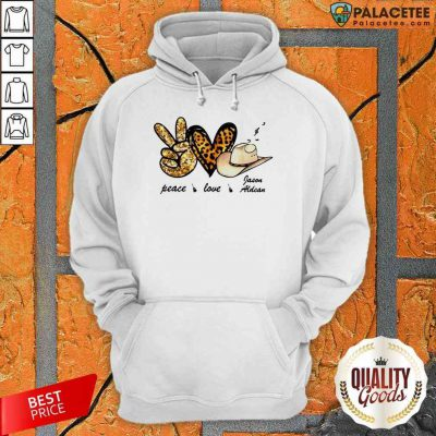 Funny Peace Love Jason Aldean Hoodie-Design By Palacetee.com