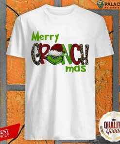 Good Merry Grinchmas Christmas Shirt-Design By Palacetee.com