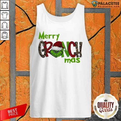 Good Merry Grinchmas Christmas Tank Top-Design By Palacetee.com