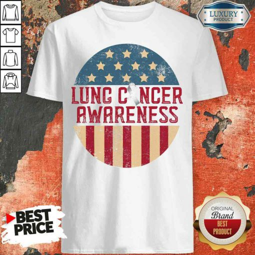 Lung Cancer Survivor Symbol Tool Carcinoma Warrior Vintage Shirt-Design By Palacetee.com
