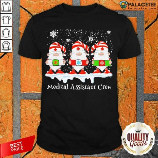 Gnome Nurse Medical Assistant Crew Merry Christmas 2020 Shirt-Design By Palacetee.com