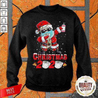 Santa Claus Dabbing Christmas 2020 Sweatshirt-Design By Palacetee.com