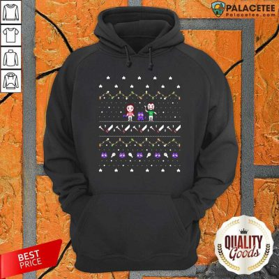 Evan And Katelyn Merch Ugly Christmas Hoodie-Design By Palacetee.com