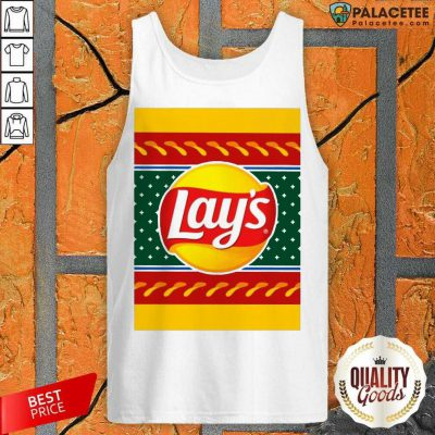 Logo Lays Christmas 2020 Tank Top-Design By Palacetee.com
