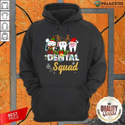 Dental Squad Merry Christmas Hoodie-Design By Palacetee.com