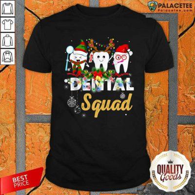 Dental Squad Merry Christmas Shirt-Design By Palacetee.com