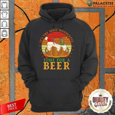 It's The Most Wonderful Time For A Beer Hoodie-Design By Palacetee.com