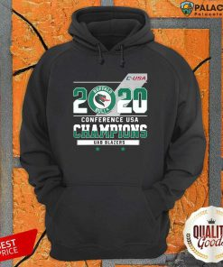 C Usa 2020 Buffalo Bulls Conference Usa Champions Uab Blazers Hoodie-Design By Palacetee.com