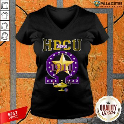 HBCU Historically Black Colleges And Universities Que 1911 Star V-neck