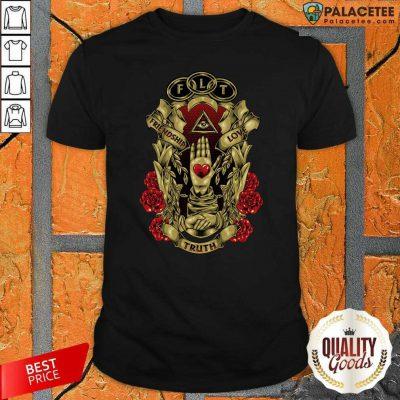 FLT Friendship Love Truth Shirt-Design By Palacetee.com