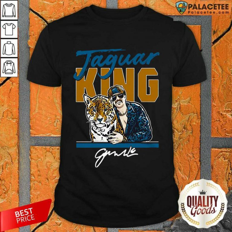 Excellent Super Jaguar King Jacksonville Tiger King Shirt