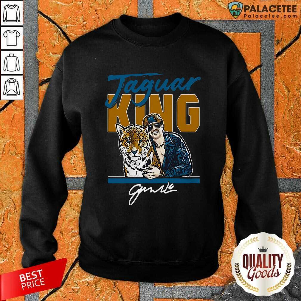 Excellent Super Jaguar King Jacksonville Tiger King Sweatshirt