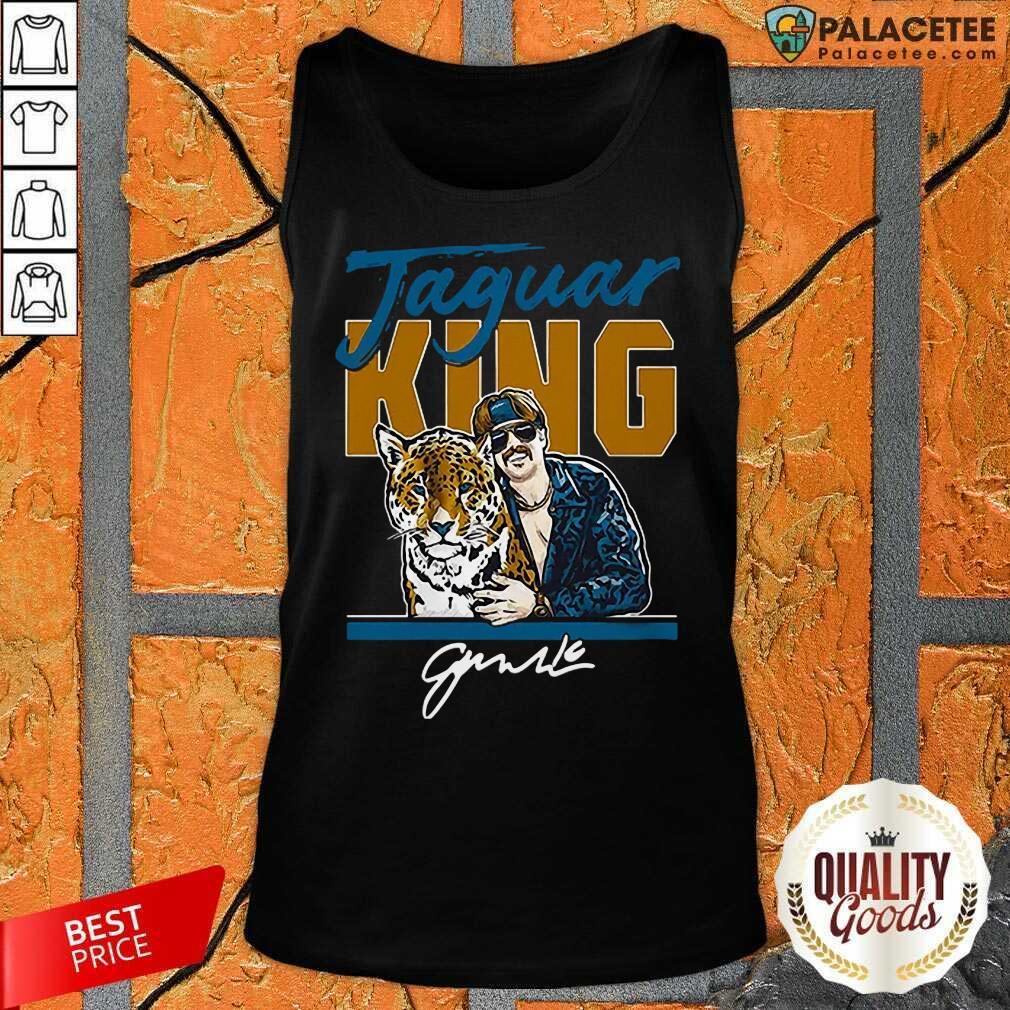 Excellent Super Jaguar King Jacksonville Tiger King Tank Top