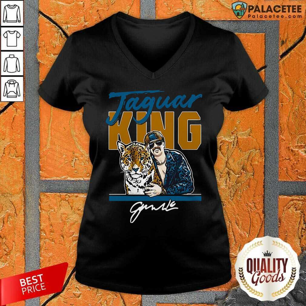 Excellent Super Jaguar King Jacksonville Tiger King V-Neck