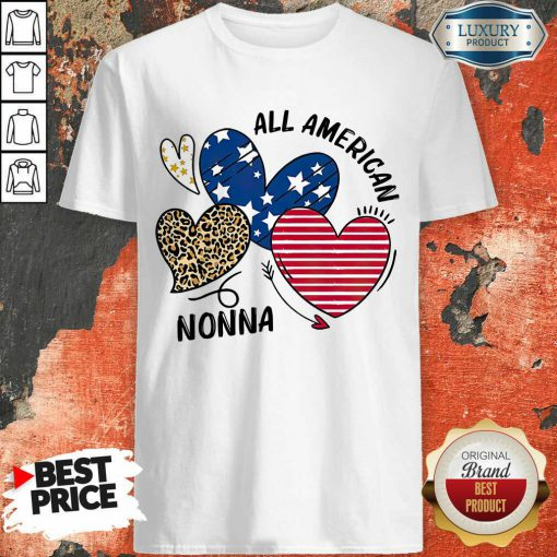 Love All American Nonna Shirt