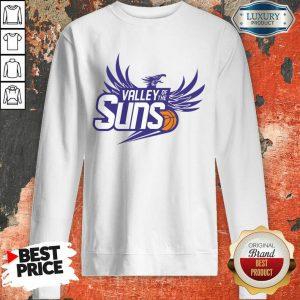 Basketball Phoenix Valley Of The Suns Sweatshirt