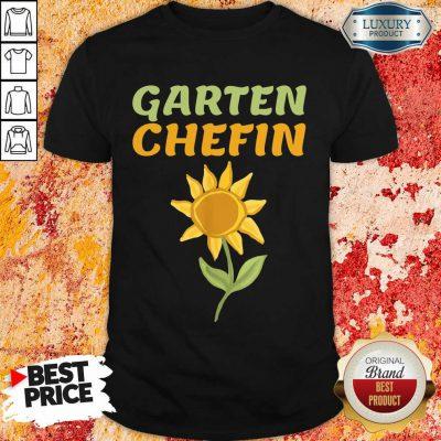 Hot Sonnenblume Garten Chefin Shirt